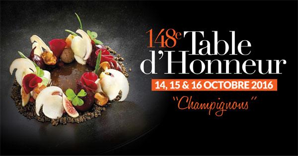 148 eme table d'honneur